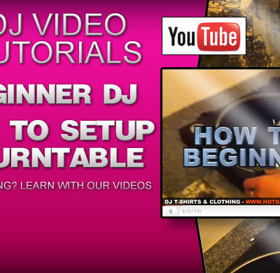 How To DJ: How To Setup A Turntable Video Tutorial