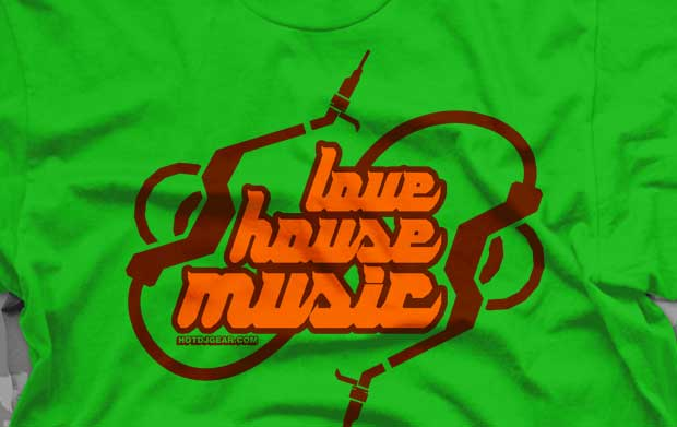 Love House Music T-Shirts