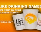 DJ Shot Glass