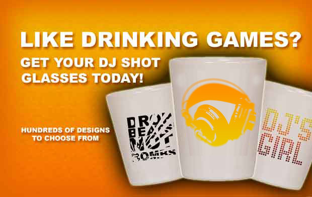 DJ Shot Glasses Launched