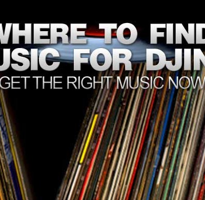 Where to find music for DJing