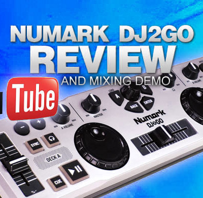 Numark DJ2GO Review & Video Mixing Demo