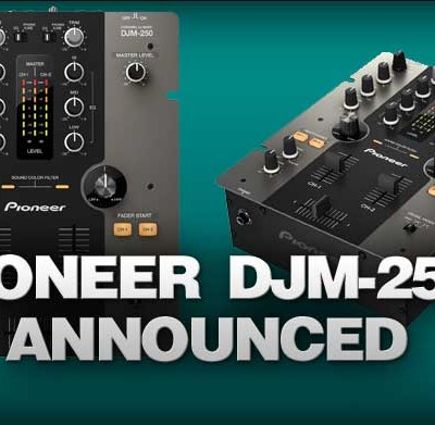 Pioneer DJM-250 Professional Mixer