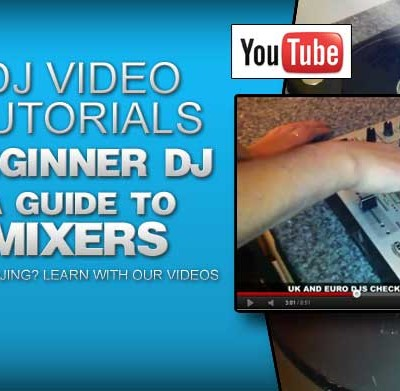Beginner DJ Tutorial: Mixers and Mixing