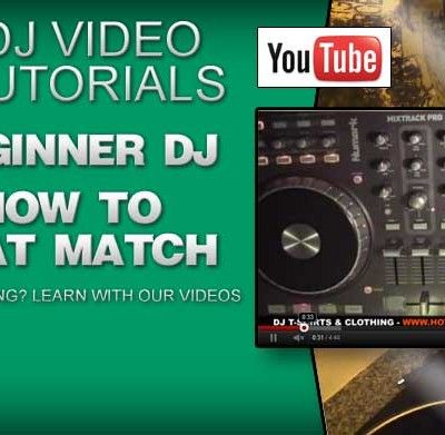 Beginner DJ: Learn How To Beat Match