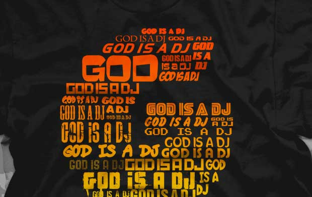 God Is A DJ Shirt Best Seller