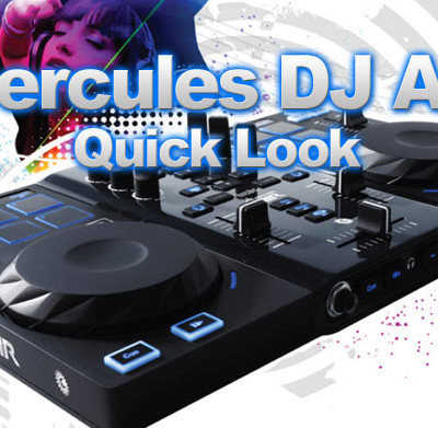 Hercules DJ Control Air Quick Look