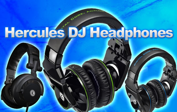 Hercules New Line of DJ Headphones