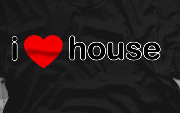 I Love House Shirts &#8211; Best Seller