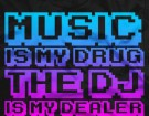 music-is-my-drug-shirt