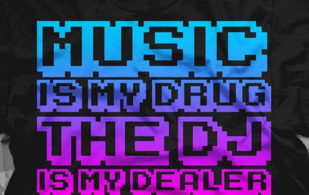 Muzički citati  - Page 2 Music-is-my-drug-shirt