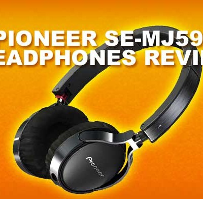 Pioneer SE-MJ591 Headphones Video Review