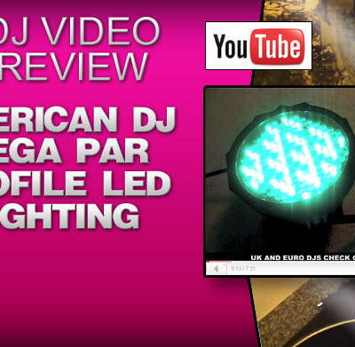 American DJ Mega Par Profile Lighting Review