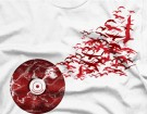 vinyl music birds dj shirts