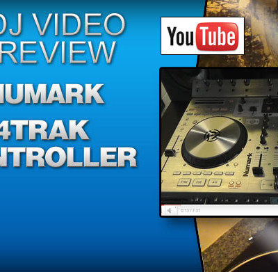 Numark 4 Trak Traktor Controller Video Review