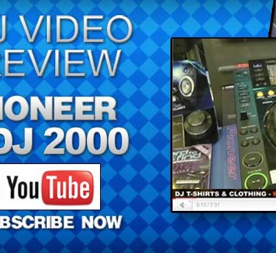 Pioneer CDJ 2000 Video Review