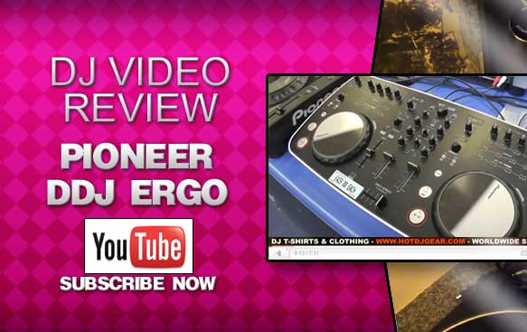 Pioneer DDJ Ergo V Video Review