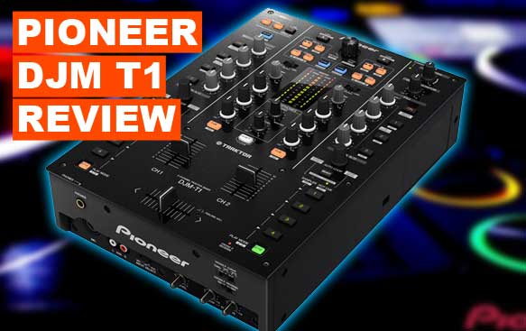 Pioneer DJM-T1 2 Channel Mixer Review