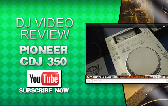 Pioneer CDJ 350 CD Deck White Video Review