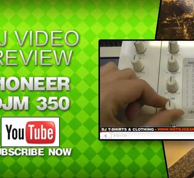 Pioneer DJM 350 Mixer White Video Review