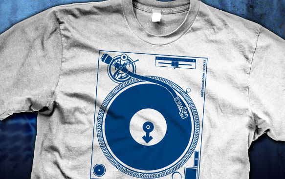 Male Turntable Shirt