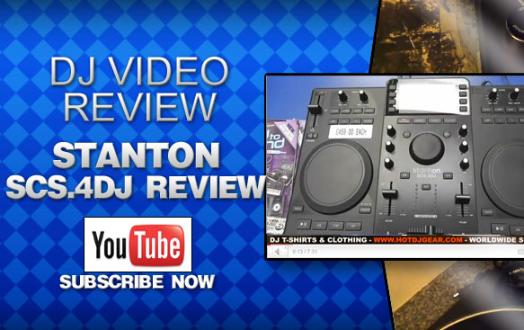 Stanton SCS.4DJ Controller Video Review