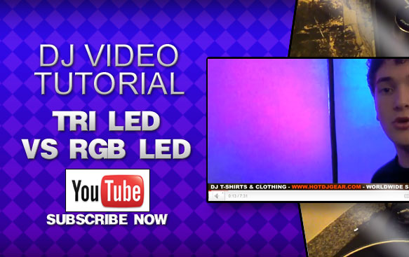 The difference between Tri LED and RGB LED Lights