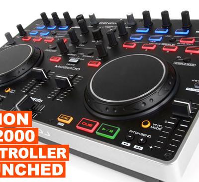 Denon MC2000 DJ Controller Launched!