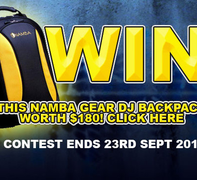 Win $180 Namba Gear DJ Backpack!