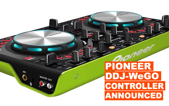 Pioneer DDJ-WeGo Controller Announced!