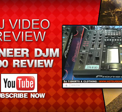 Pioneer DJM 2000 4 Channel Mixer Video Review