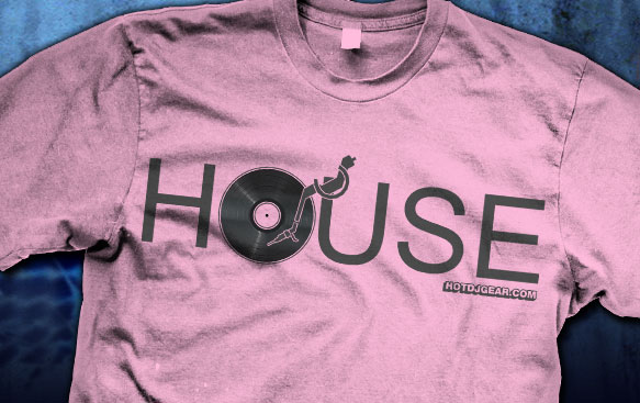 House Vinyl DJ Shirts