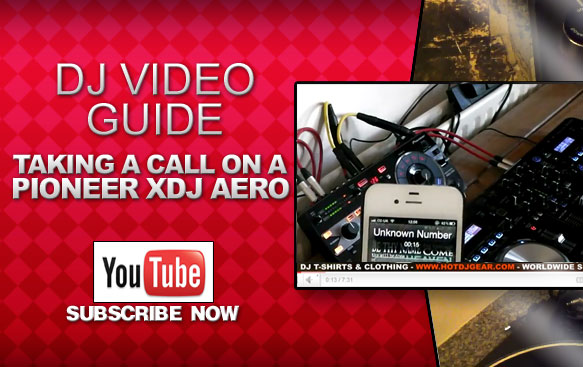 Take A Phone Call On A Pioneer XDJ Aero Tutorial
