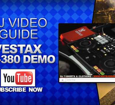 Vestax VCI-380 Controller Video Demo