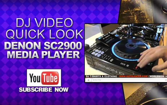 Denon SC2900 Media Player Quick Look Video