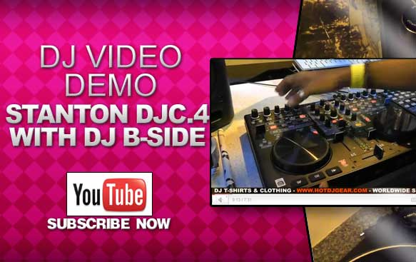 Stanton DJC.4 Controller Demo with DJ B-Side