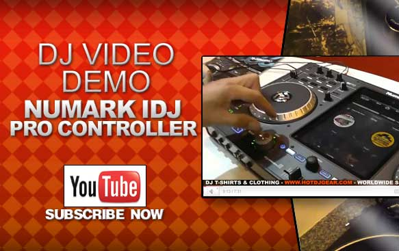 Numark IDJ Pro Controller Demonstration Video