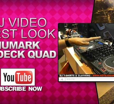 Numark Mixdeck Quad First Look Video
