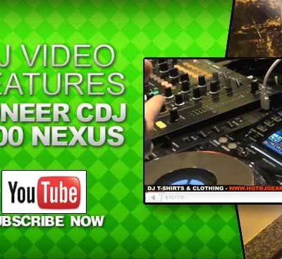 Pioneer CDJ 2000 Nexus Feature Overview with Rob at Pioneer Video