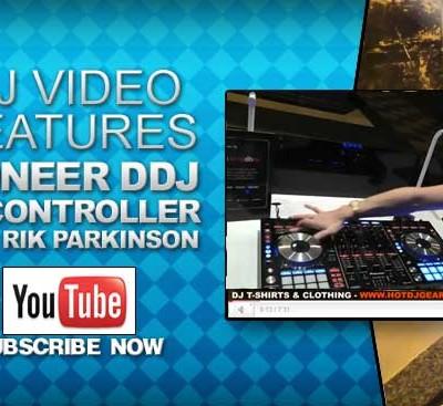 Rik Parkinson Pioneer DDJ-SX Controller Feature Look Video