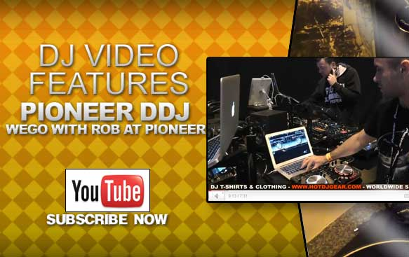 Pioneer DDJ Wego Feature Overview with Rob From Pioneer Video