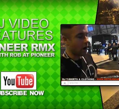 Pioneer RMX 1000 Feature Overview with Rob at Pioneer Video