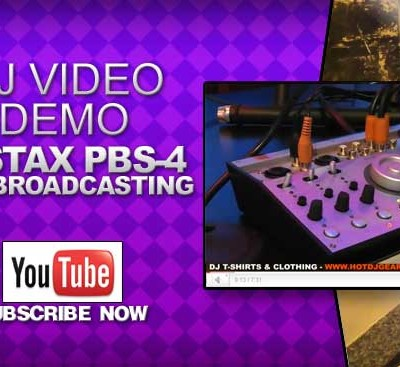 Vestax PBS-4 Web Broadcasting Quick Look