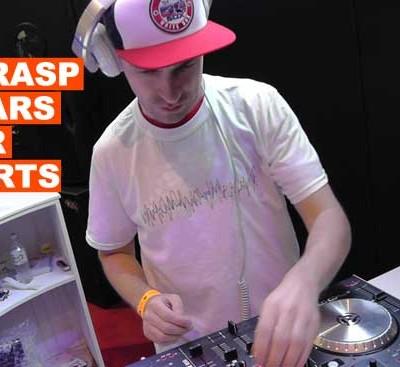 DJ Rasp Wears HOTDJGEAR