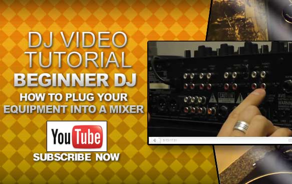Beginner DJ: How to Plug Your Equipment Into A Mixer