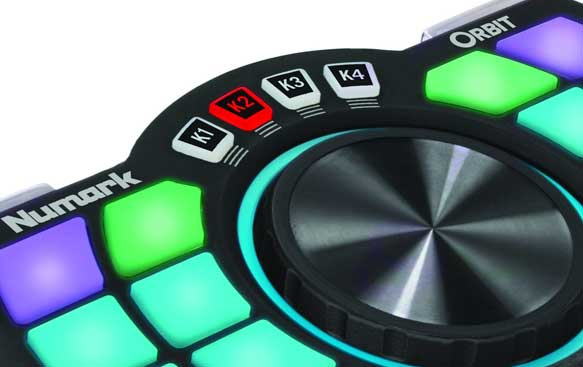 Numark Orbit handheld wireless DJ Controller