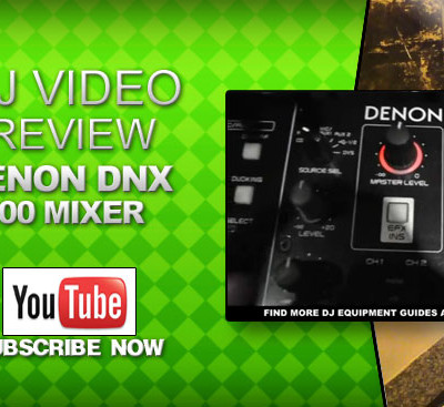 Denon DNX 600 2 Channel Mixer Video Review