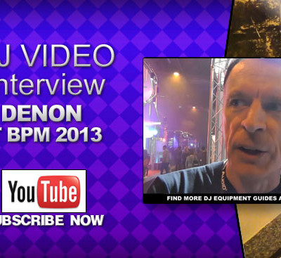 Denon BPM 2013 Interview