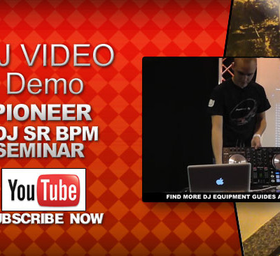 Pioneer DDJ-SR Seminar BPM Video