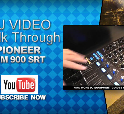 Pioneer DJM 900 SRT Mixer Video Walk Through